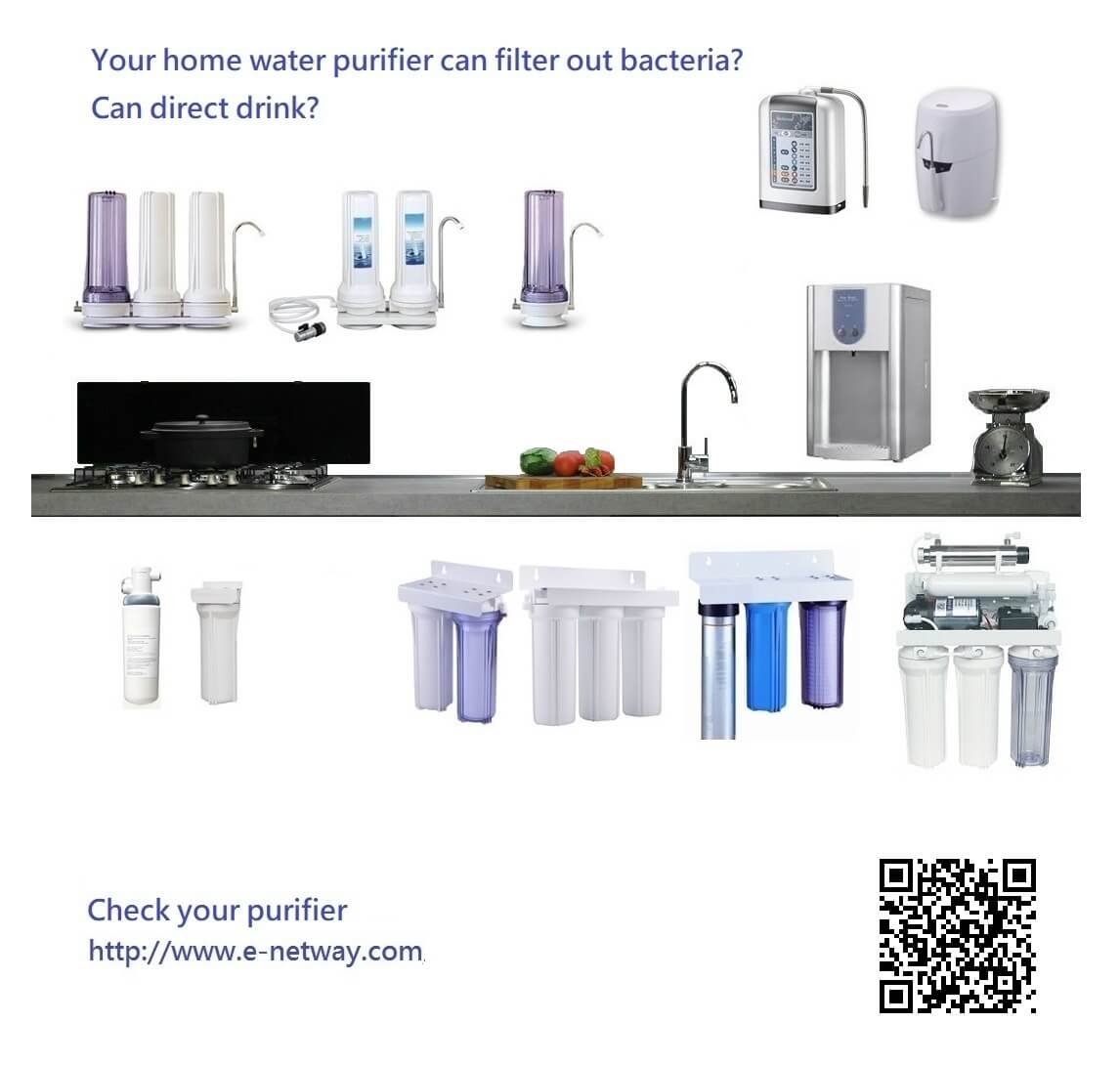 Why can't drink the water of the faucet? Reverse osmosis water filter reliable? You can check home water filtration system or alkaline water filter, and then replace some water cartridge filter to upgrade your water purifier, easily get the highest standards pure water.