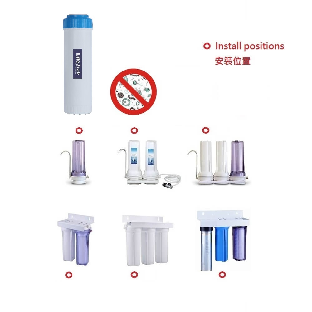 WHF-093(Ultrafiltration,UF,hollow fiber membrane,water filter) for commercial,coffee machine,ice sand machine,ice maker,ice cream machine,filtration)